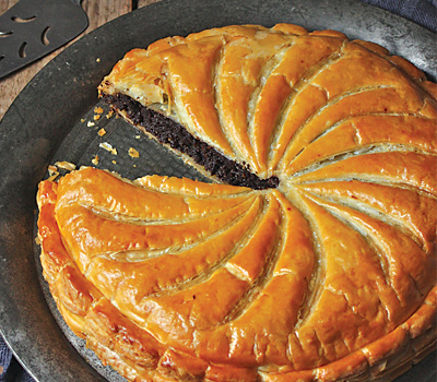 Pear & Chocolate pithivier