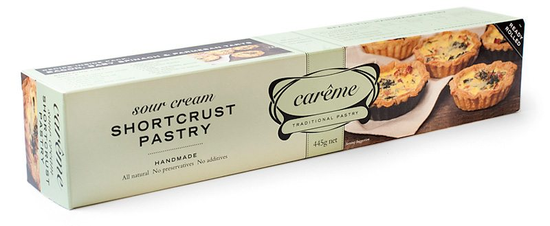 Sour Cream Shortcrust Pastry