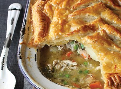 how to make savoury tarts with puff pastry