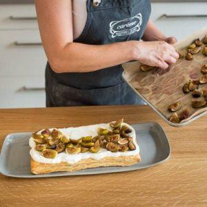 Roast fig, Greek yoghurt free for puff tart-400x400-6