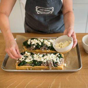 Spinach, onion, feta free form tart-400x400-12