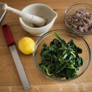 Spinach, onion, feta free form tart-400x400-7