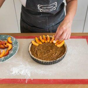Stone fruit almond torte-400x400-9