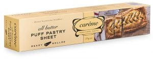 All Butter Puff Pastry 375g Careme Pastry