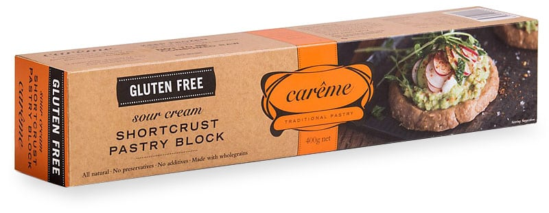 Sour Cream Gluten Free Shortcrust Pastry 400g Careme