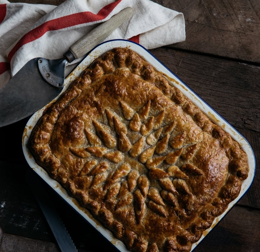 Slow Cooked Lamb Pie