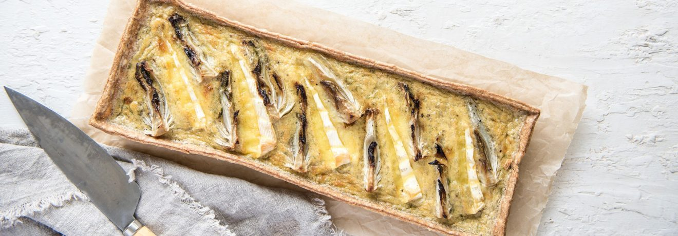 Roasted Fennel, Brie and Cardamom Tart, Carême Pastry