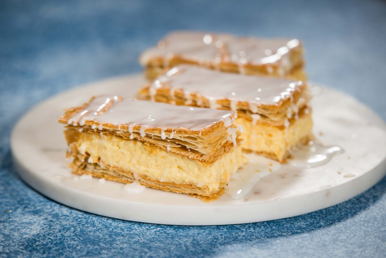 how to make vanilla slice recipe