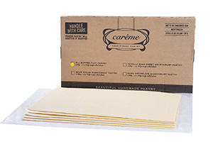 Butter Puff Pastry Sheets for Foodservice - Carême Pastry