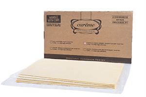 Vanilla Bean Sweet Shortcrust Pastry Foodservice Sheets