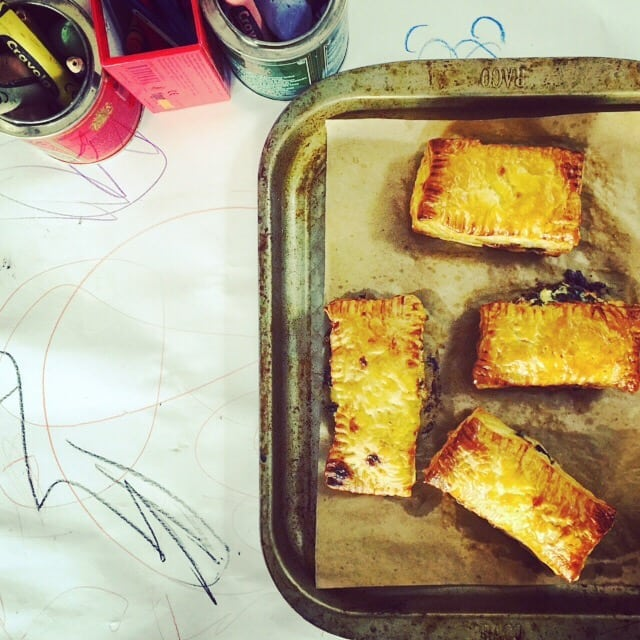 Rarebit Savouries with Carême Puff Pastry