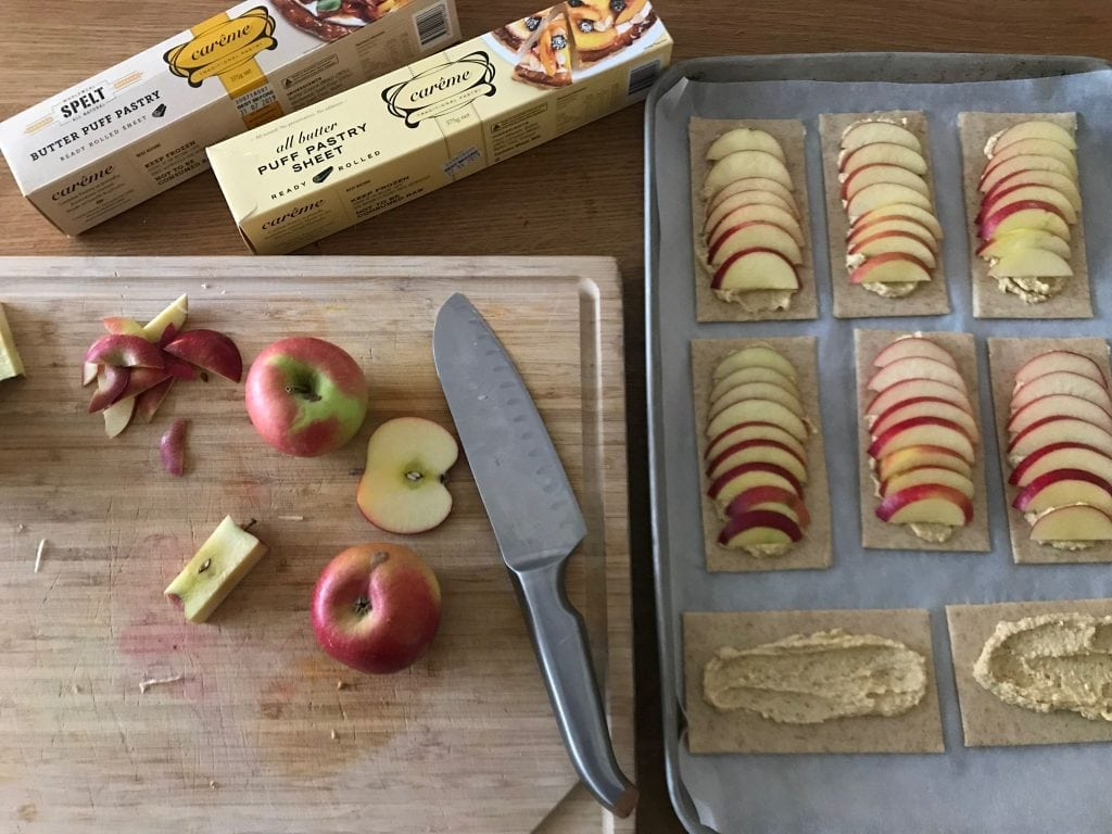 Little Apple Frangipane Tarts