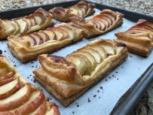 Little Apple Frangipane Tarts with Butter Puff Pastry