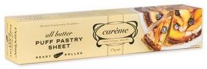 Carême Pastry Sour Cream Shortcrust Pastry