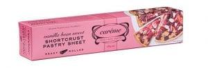 Carême Pastry Sweet Vanilla Bean Shortcrust Pastry