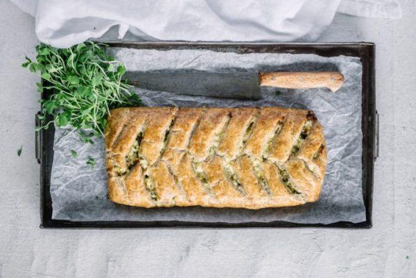 Carême Pastry Cheesy Turkey and Spinach Strudel
