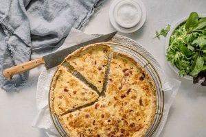 Carême Pastry Quiche Lorraine Recipe