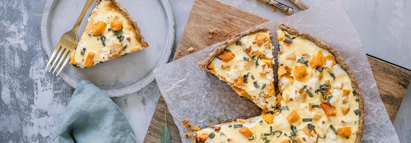 Carême Pastry Roast Pumpkin Tart Recipe