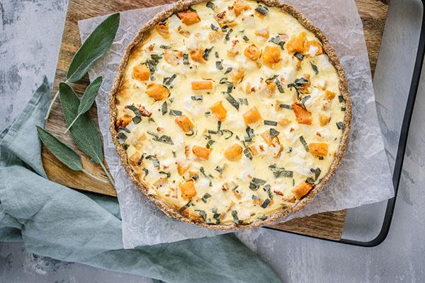 Carême Pastry Roast Pumpkin Tart Pastry Recipe