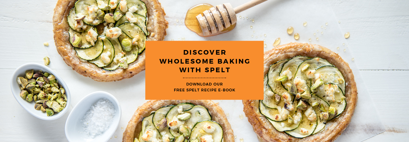 Download our Spelt Pastry Recipe eBook