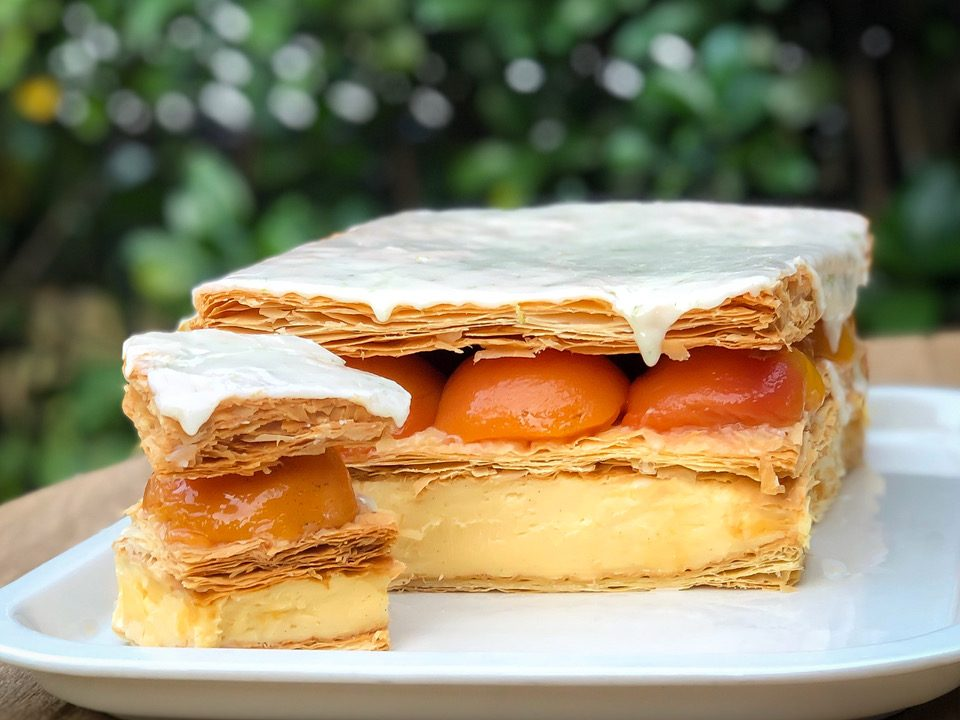 Queen Fine Foods and Carême Pastry Vanilla Slice Competition Winning Entry