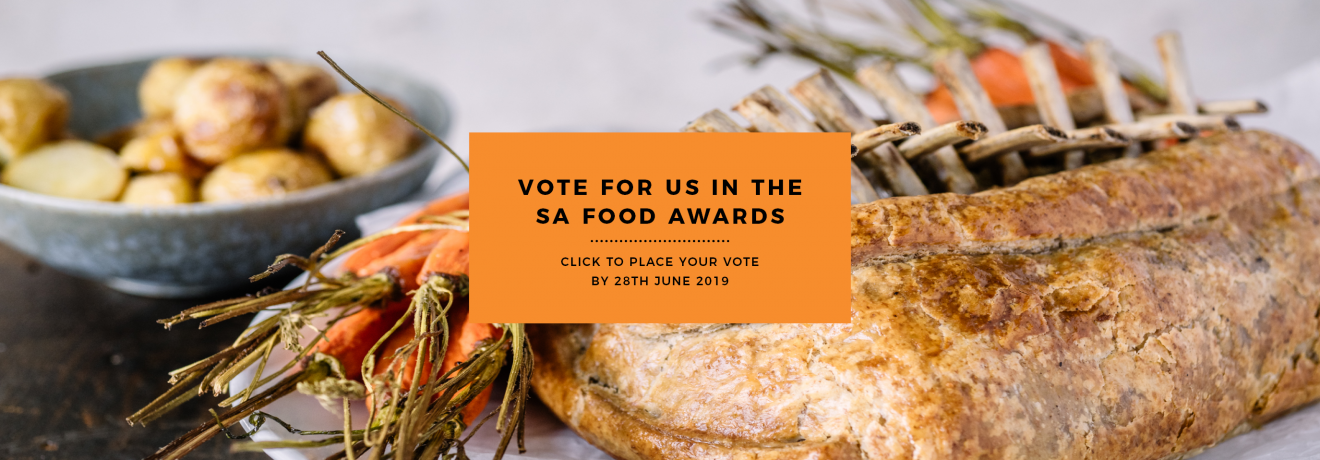 Vote for Carême Pastry in the SA Food Awards