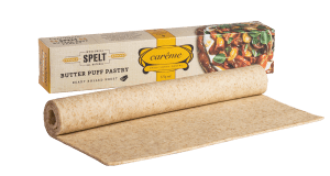 Spelt Wholemeal Butter Puff Pastry by Carême Pastry