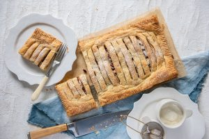 Apple Strudel made with Carême Sour Cream Shortcrust Pastry