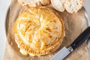 Baked Camembert Pithivier made with Carême All Butter Puff Pastry