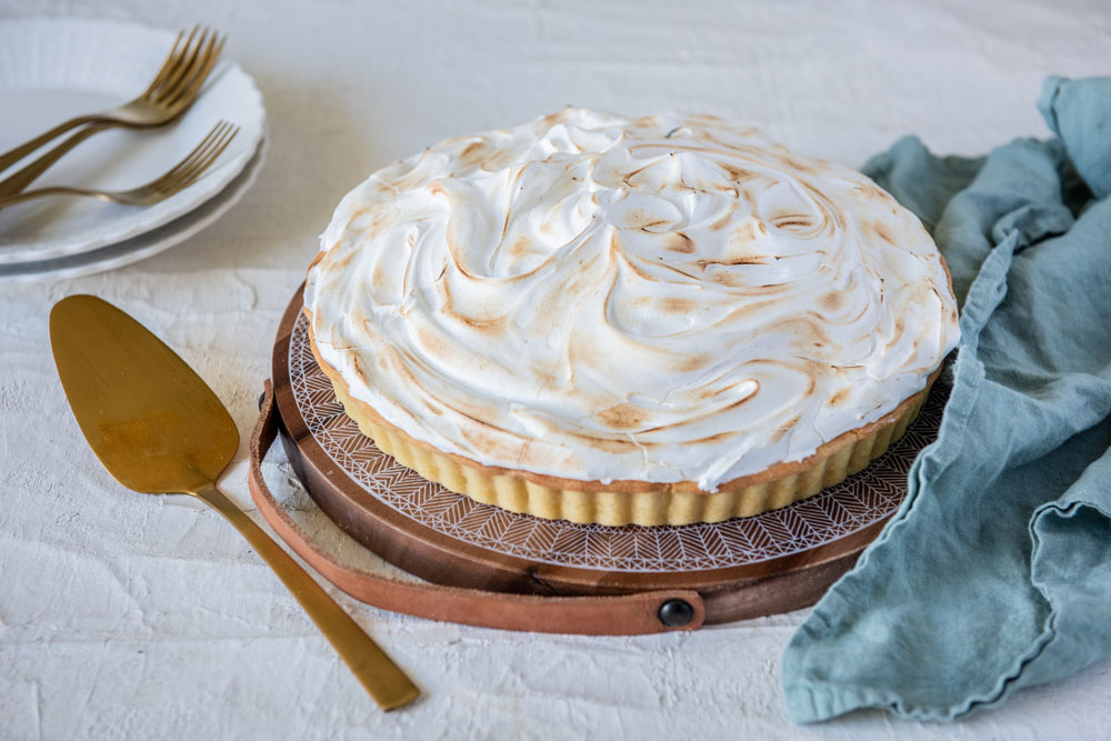 Lemon Meringue Pie made with Carême Vanilla Bean Shortcrust Pastry