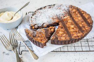 Chocolate & Hazelnut Crostata with Carême Chocolate Shortcrust Pastry