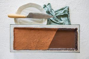 Simple Chocolate Ganache Tart with Carême Chocolate Shortcrust Pastry