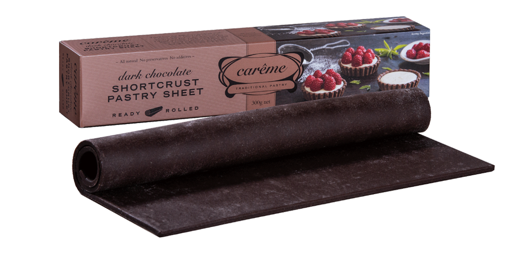 Dark Chocolate Shortcrust Pastry