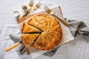 Chicken Salsa Verde Pithivier with Carême Butter Puff Pastry