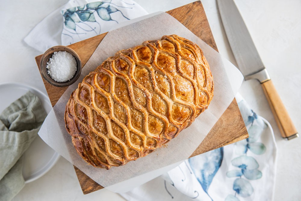 Traditional Beef Wellington with Carême Butter Puff Pastry