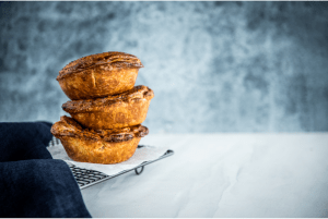 Class Beef Pie with Carême Sour Cream Shortcrust Pastry