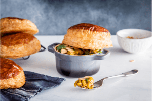 Moroccan Chicken Pie with Carême All Butter Puff Pastry
