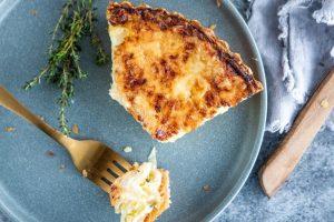 Layered Leek & Potato Pie with Carême Spelt Butter Puff Pastry